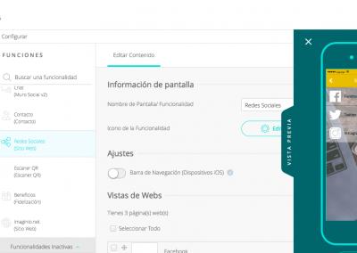 CMS App - Editar Función