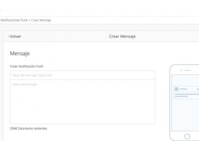 CMS App - Notificaciones Push