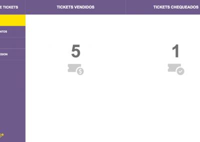 Registro de Tickets - Reportes