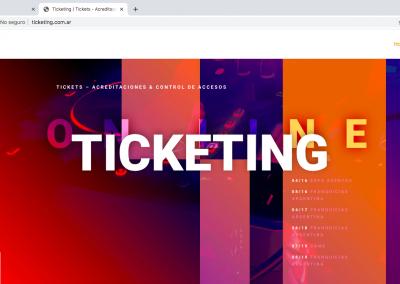 Plataforma Venta de Tickets