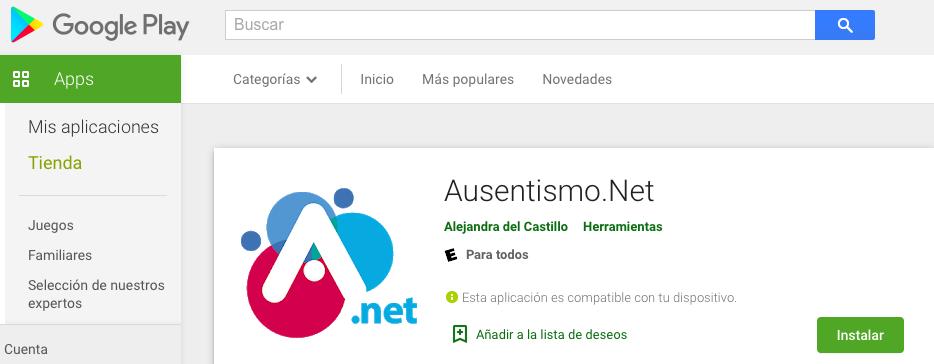Lanzamiento App Ausentismo.Net